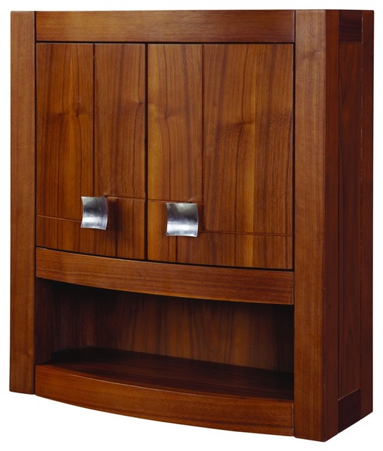 Decolav 5245-MWN Gavin Wall Cabinet - Modern - Bathroom Cabinets And Shelves - by PlumbingDepot.com