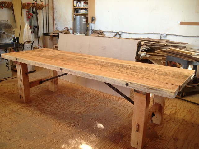 Cypress Harvest Table Eclectic Dining Tables Santa Barbara By