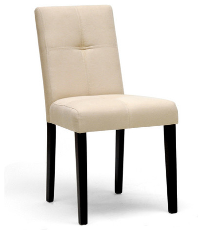 Elsa Beige Fabric Modern Dining Chair - Set of 2 modern-dining-chairs