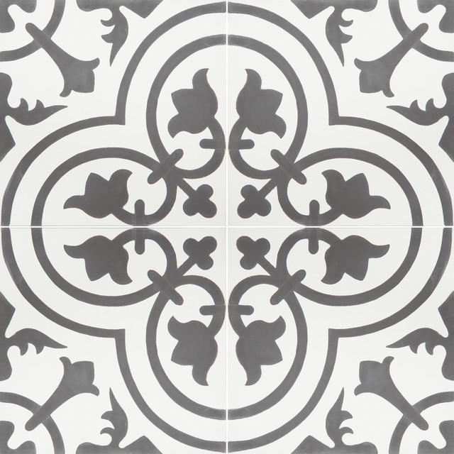 Granada Cement Tile Cluny 888c Design Contemporary
