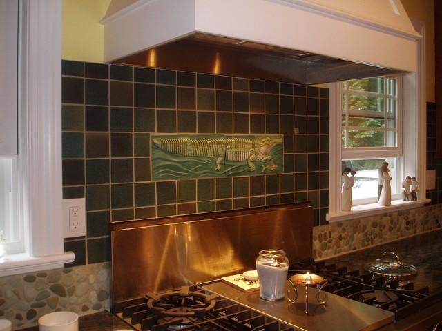 Ingrid Porter Interiors eclectic-kitchen