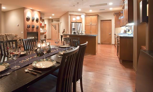 Palm Desert Contemporary Residence contemporary-dining-room
