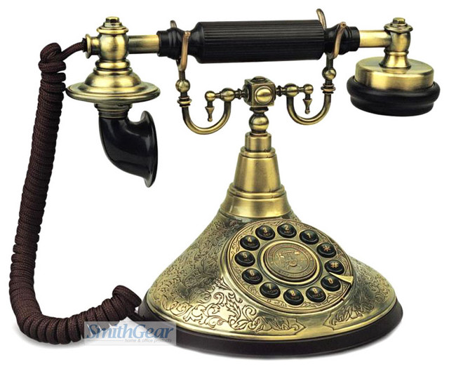 Duke Retro Desk Phone traditional