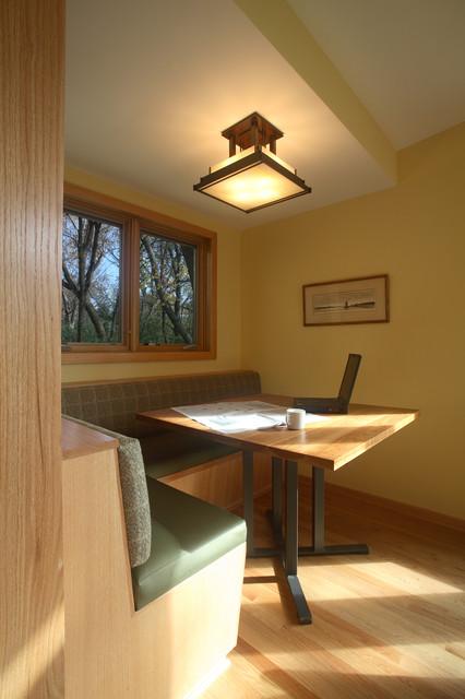 The breakfast nook transitional sunroom minneapolis for Sunroom breakfast nook