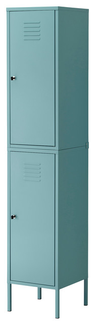 Ikea PS Cabinet, Turquoise  Industrial  Storage Cabinets  by IKEA