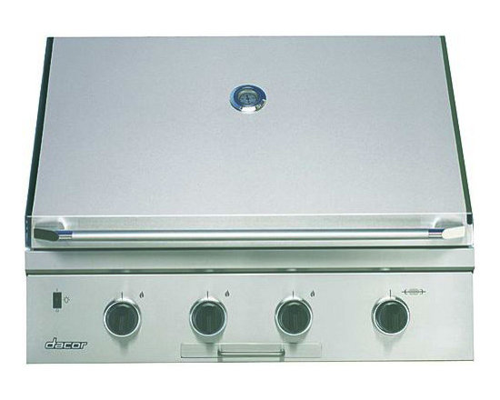 "Dacor Epicure 36"" Outdoor Grill, STAINLESS STEEL WITH CHROME TRIM 