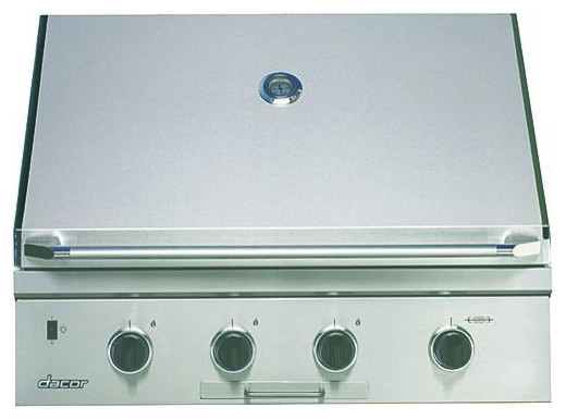 """Dacor Epicure 36"""" Outdoor Grill, STAINLESS STEEL WITH CHROME TRIM   OBS36NG outdoor-grills"""