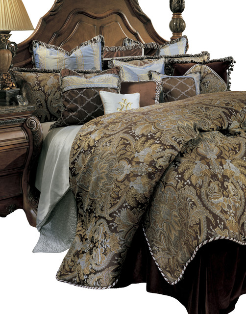 Portofino King 13 pc. Comforter Set traditional-bedding