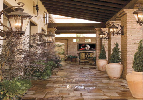 Retaining and Decorative Walls, Fences, Columns and gates contemporary-landscape