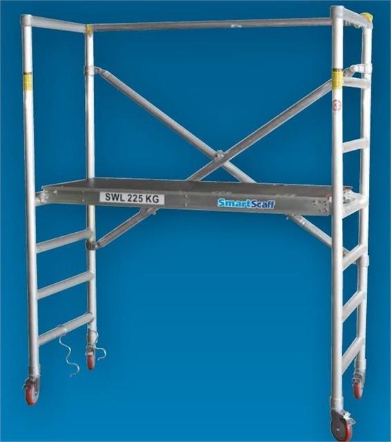 Smart Scaff 225kg Folding Aluminium Scaffold Base I N 0860263 Contemporary