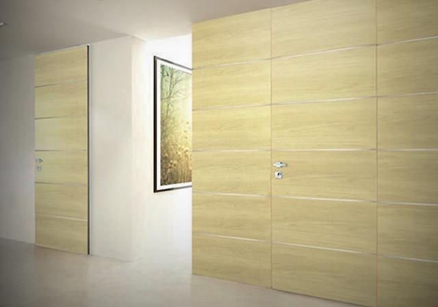 Hidden Doors Modern Interior Doors Other Metro By