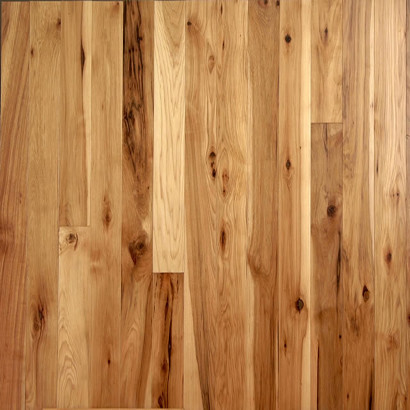 Unfinished hickory natural contemporary hardwood for Unfinished wood flooring