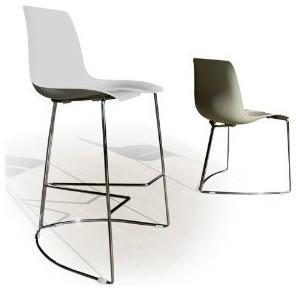 TRE 3 Stacking Design Bar Stool modern-bar-stools-and-counter-stools