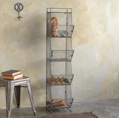 Wrights Peak Tall 4-Bin Coop modern storage and organization