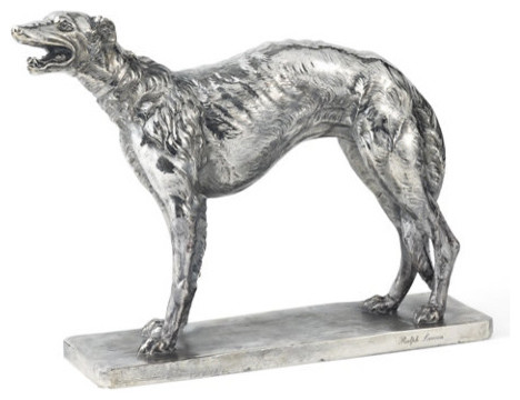 Addison Greyhound Statue eclectic-accessories-and-decor