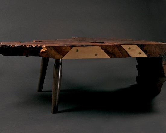 Slab coffee table -