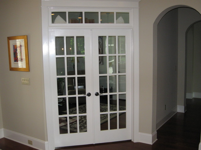 French doors for office