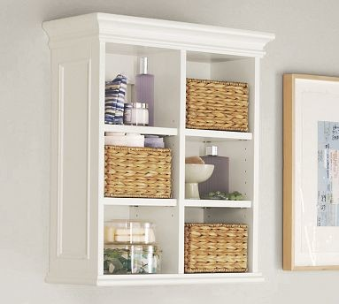 ... White - Traditional - Bathroom Cabinets And Shelves - by Pottery Barn