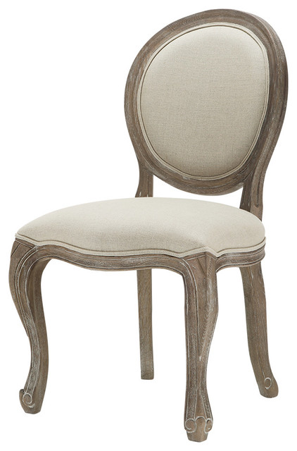 Margot Weathered Dining Chair - Traditional - Dining Chairs - by Arhaus