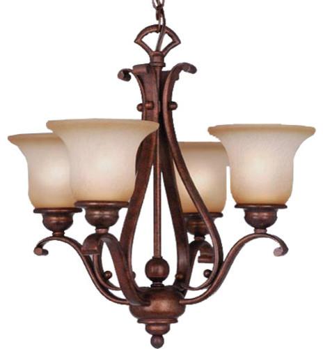 Monrovia Four-Light Chandelier modern-chandeliers