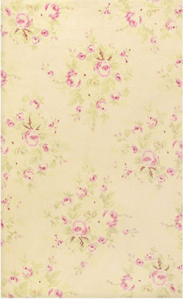 The Rug Market 5 Chic Romantique French Rose Bouquet Rug contemporary-rugs