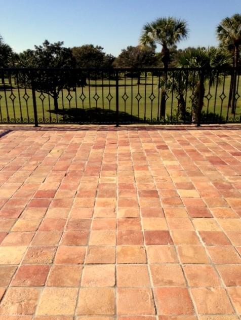 reclaimed terracotta tiles mediterranean - photo #12