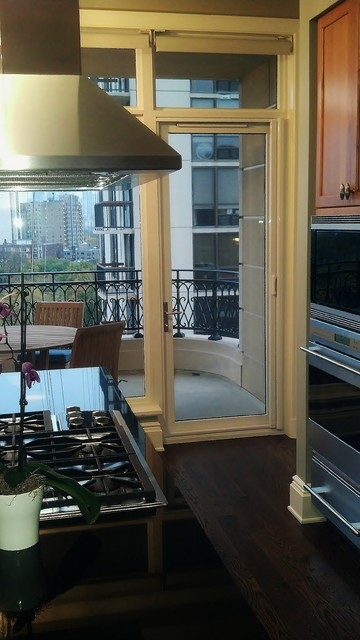 Mirage Retractable Door Screens-Chicago Condominiums