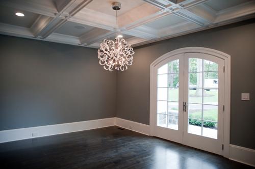 Floors Red Oak With Ebony Stain