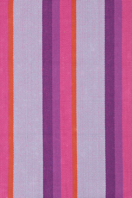 Quartz Stripe Woven Cotton Rug eclectic rugs