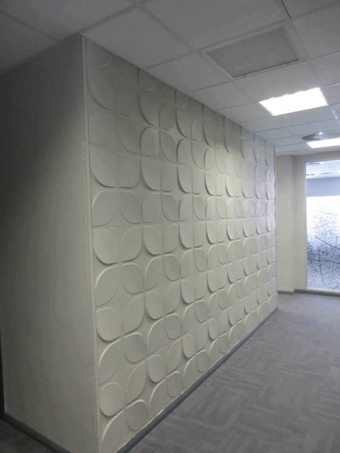 Textured wall coverings modern wallpaper toronto for 3d wall covering wallpaper