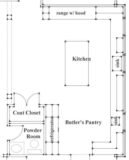 Great Kitchen Plan. What Are The Dimensions Of The Entire