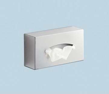 Rectangle Stainless Steel Wall Tissue Box Holder contemporary-tissue-box-holders