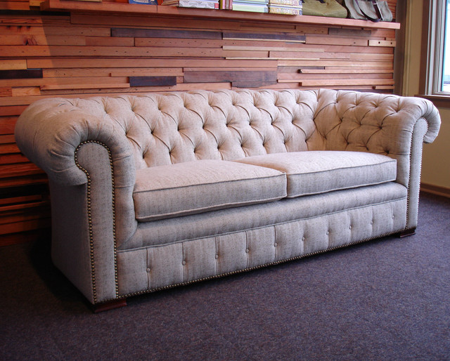 Chesterfield sofa Traditional Sofas portland by Acanthus