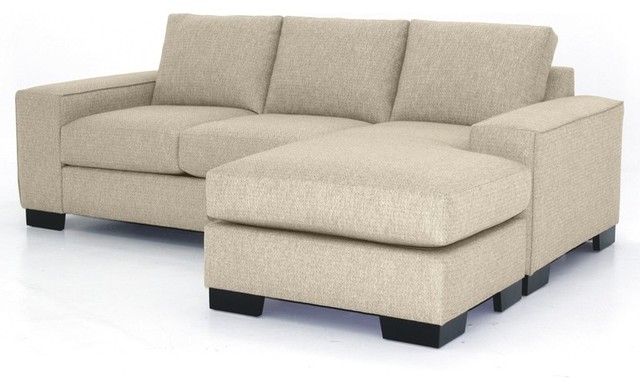 Melrose Revers. Sectional Chaise, Woven Beach, 93x39x27 modern-sectional-sofas