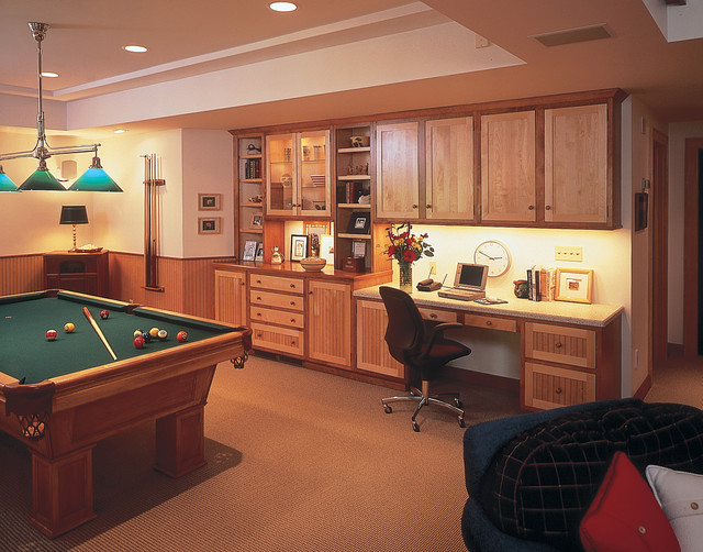 Cabinetry for Every Room in Your Home eclectic-home-office