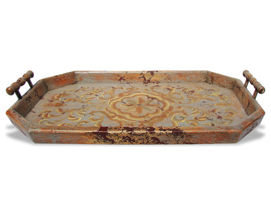 Accessory Trays - This accessory tray was hand crafted and hand painted in Peru be skilled craftsmen and artists using reclaimed and repurposed woods and raw materials. See more at www.KoenigCollection.com