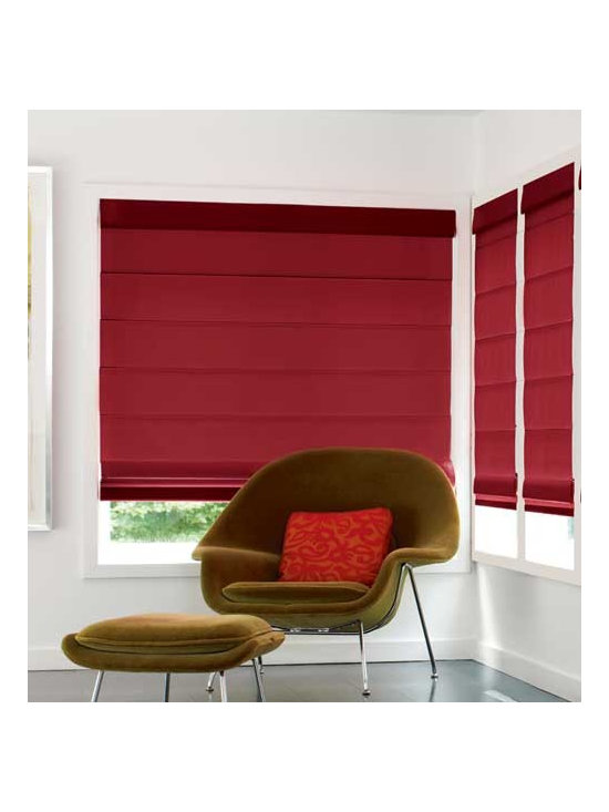 Levolor - Levolor Roman Shades: Designer Textures (Light Filtering) - Levolor offers a stunning new collection of high-quality, high value roman shades that perfectly suit your lifestyle.  In a wide selection of colors, the Designer Textures collection features a versatile semi-opaque solid fabric that gently filters light while providing good privacy.