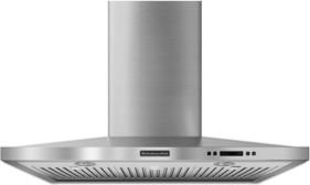 "KitchenAid 36"" Stainless Steel Chimney hood fan range-hoods-and-vents"