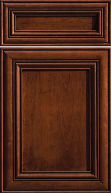 Dura Supreme Cabinetry Flat Panel Doors traditional-kitchen-cabinets