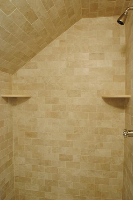 Crema Marfil Guest Bathroom