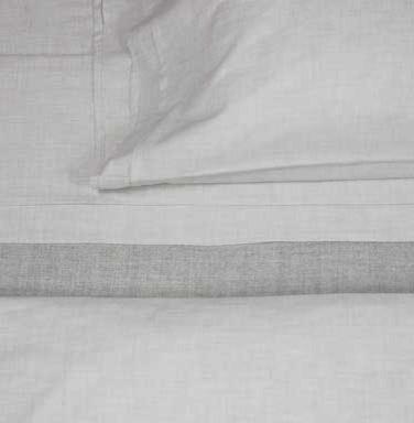 Heather Cement Flat Sheet modern-sheets