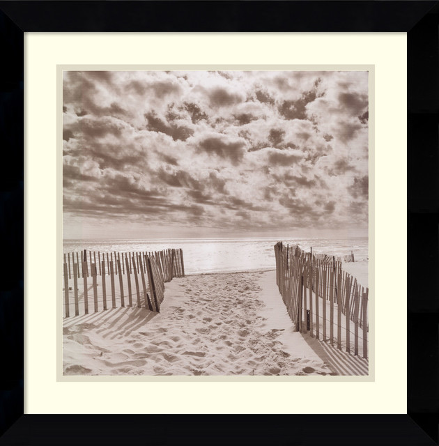 South Beach Framed Print by Michael Kahn beach-style-prints-and-posters