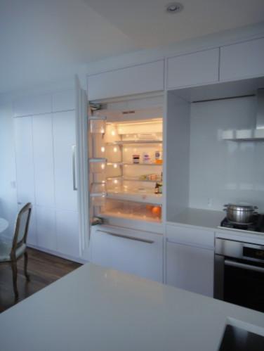 Modern Kitchen Renovation - Upper East Side, NYC modern-refrigerators