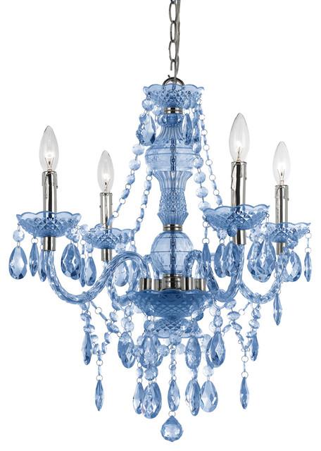 Af Lighting 8352-4H Elements Naples Mini Chandelier modern-chandeliers