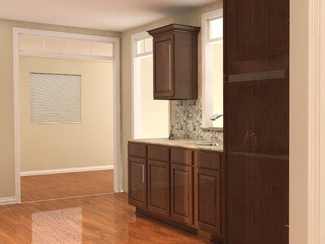 Kitchen Design traditional-rendering