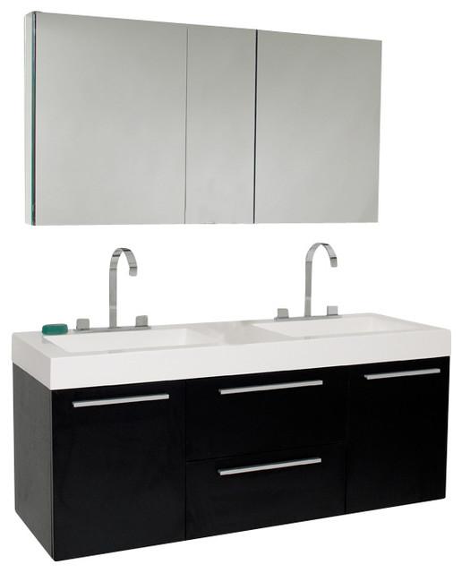 bathroom vanity with medicine cabinet black modern bathroom vanities