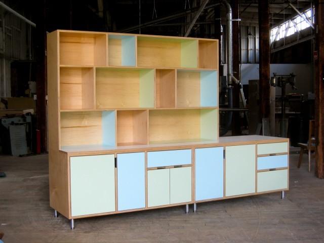 Lewis storage unit cabinet - Modern - seattle - by Kerf Design