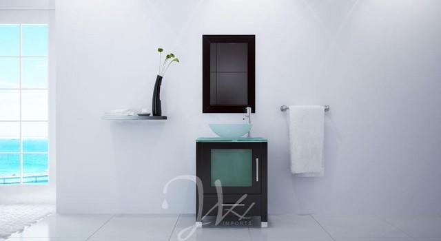 """23.75"""" Soft Focus Single Bath Vanity modern-bathroom-vanities-and-sink-consoles"""