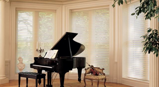 Hunter Douglas Silhouette® Window Shadings contemporary-window-blinds