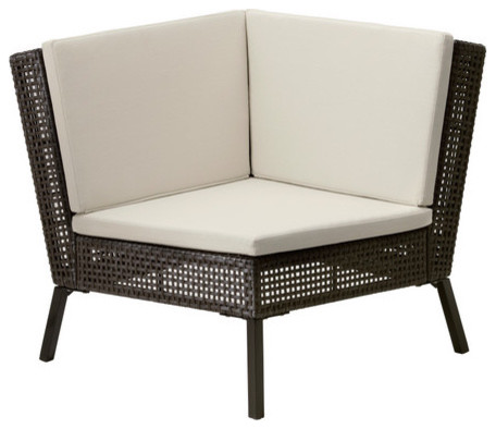 ammer corner section with cushion scandinavian patio